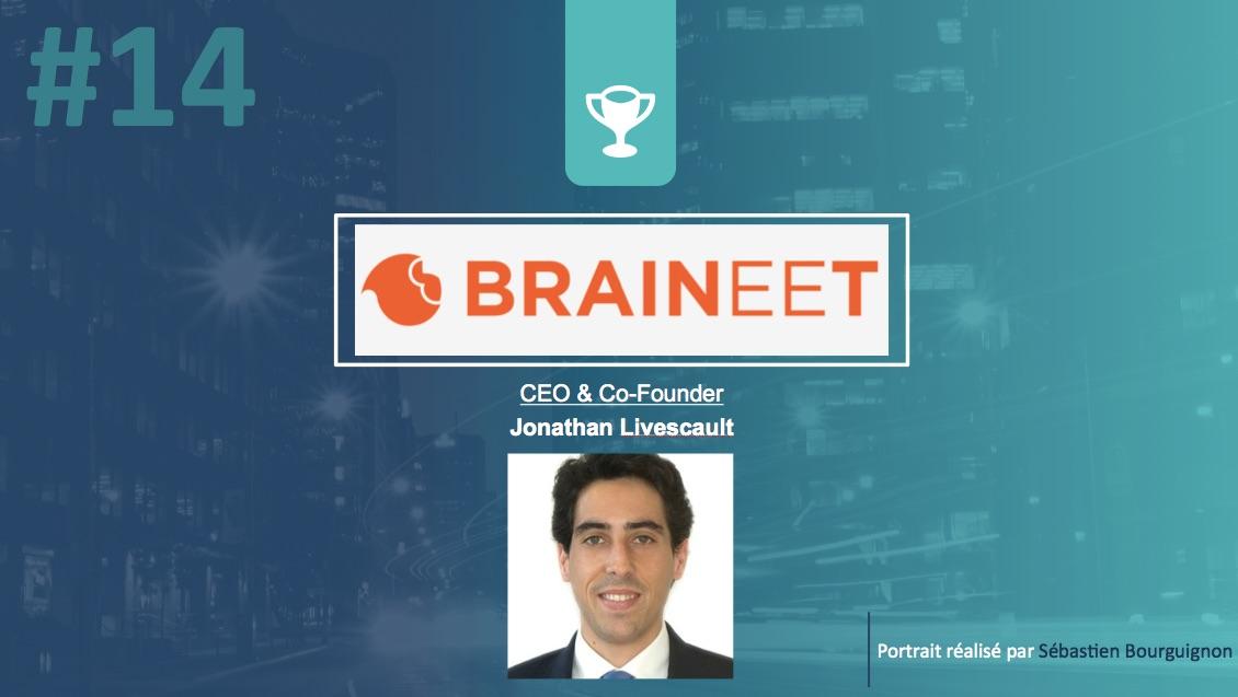 Portrait de startuper #14 - BRAINEET - Jonathan Livescault - par Sébastien Bourguignon