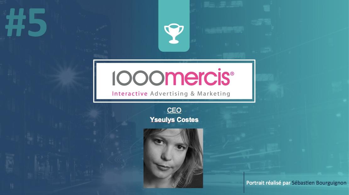 Portrait de startuper #5 - 1000mercis - Yseulys Costes - par Sébastien Bourguignon