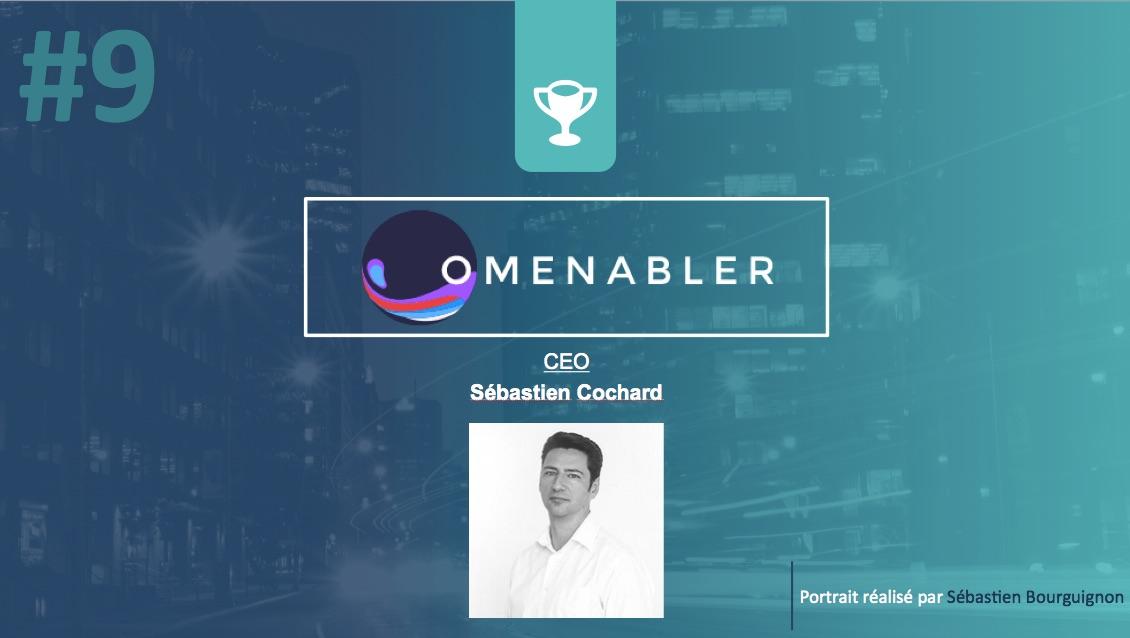 Portrait de startuper #9 - Omenabler - Sébastien Cochard - par Sébastien Bourguignon
