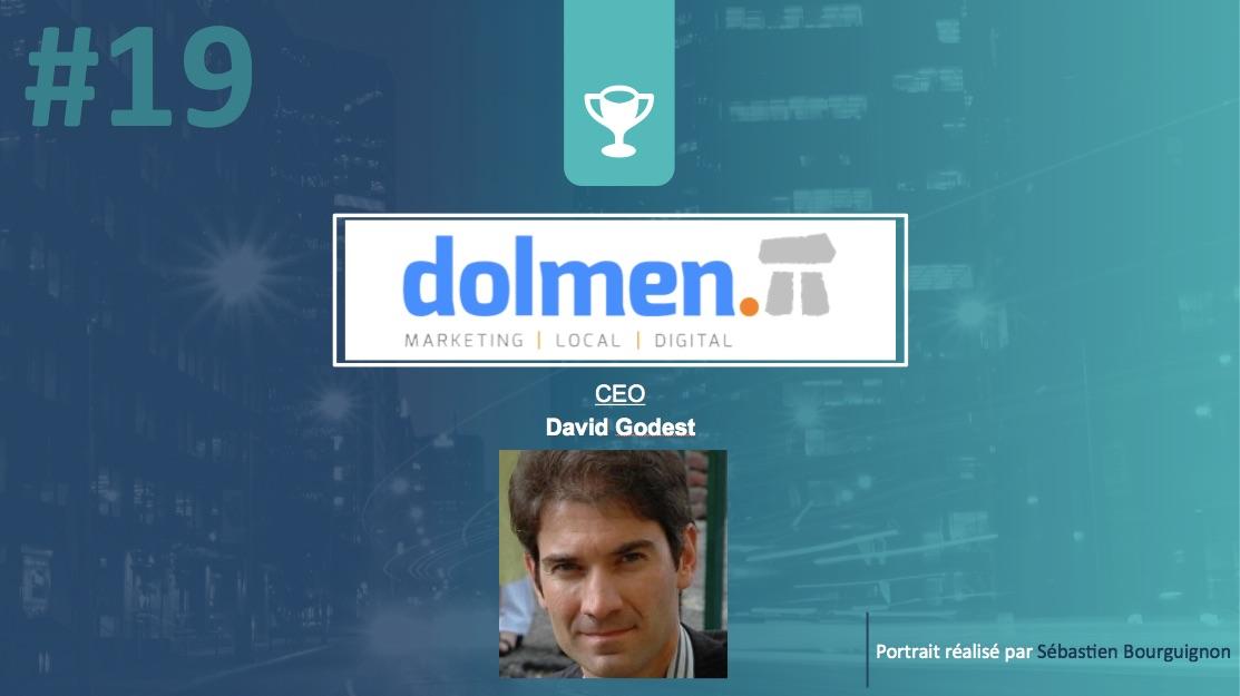Portrait de startuper #19 - Dolmen - David Godest - par Sébastien Bourguignon
