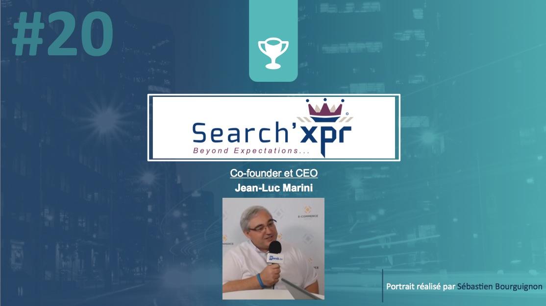 Portrait de startuper #20 - Search'XPR - Jean-Luc Marini - par Sébastien Bourguignon
