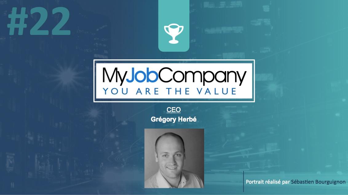 Portrait de startuper #22 - MyJobCompany - Grégory Herbé - par Sébastien Bourguignon