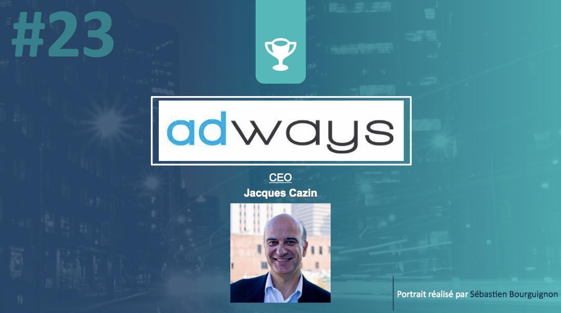 Portrait de startuper #23 - Adways - Jacques Cazin - par Sébastien Bourguignon
