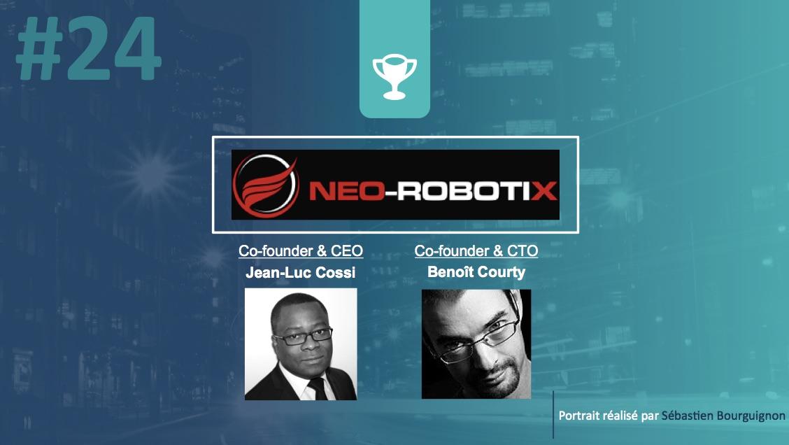 Portrait de startuper #24 - Neo-Robotix - Jean-Luc Cossi - par Sébastien Bourguignon