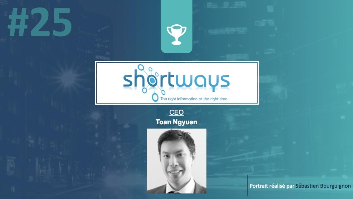 Portrait de startuper #25 - Shortways - Toan Nguyen - par Sébastien Bourguignon