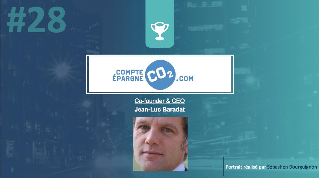 Portrait de startuper #28 - Compte Epargne CO2 - Jean-Luc Baradat - par Sébastien Bourguignon