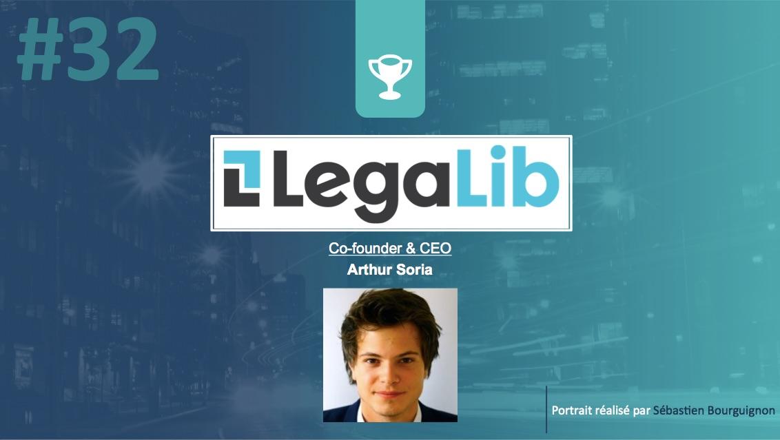 Portrait de startuper #32 - Legalib - Arthur Soria - par Sébastien Bourguignon