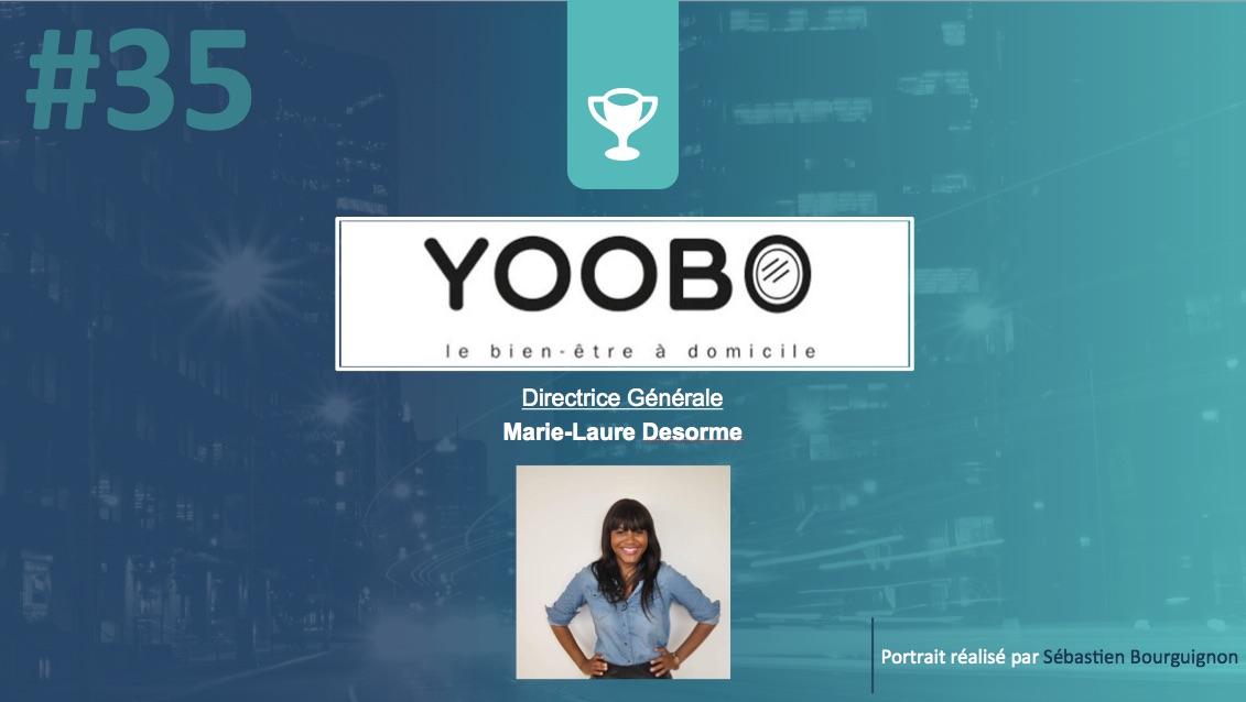 Portrait de startuper #35 – Yoobo – Marie-Laure Desorme - par Sébastien Bourguignon