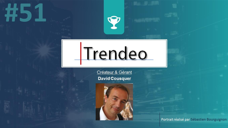 Portrait de startuper #51 - Trendeo - David Cousquer - par Sébastien Bourguignon