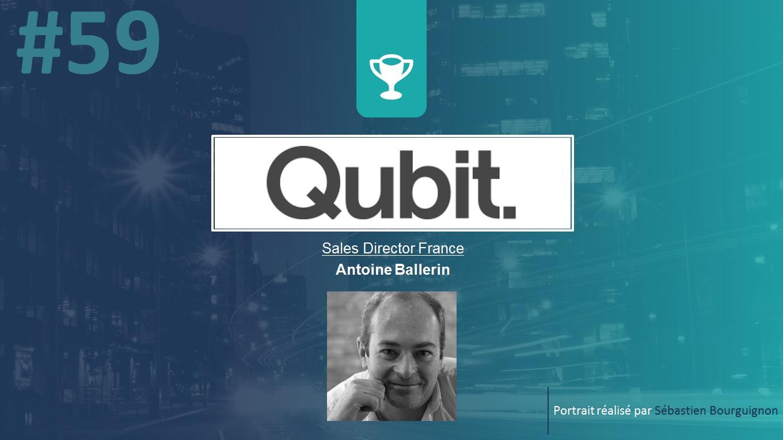 Portrait de startuper #59 - Qubit - Antoine Ballerin - par Sébastien Bourguignon