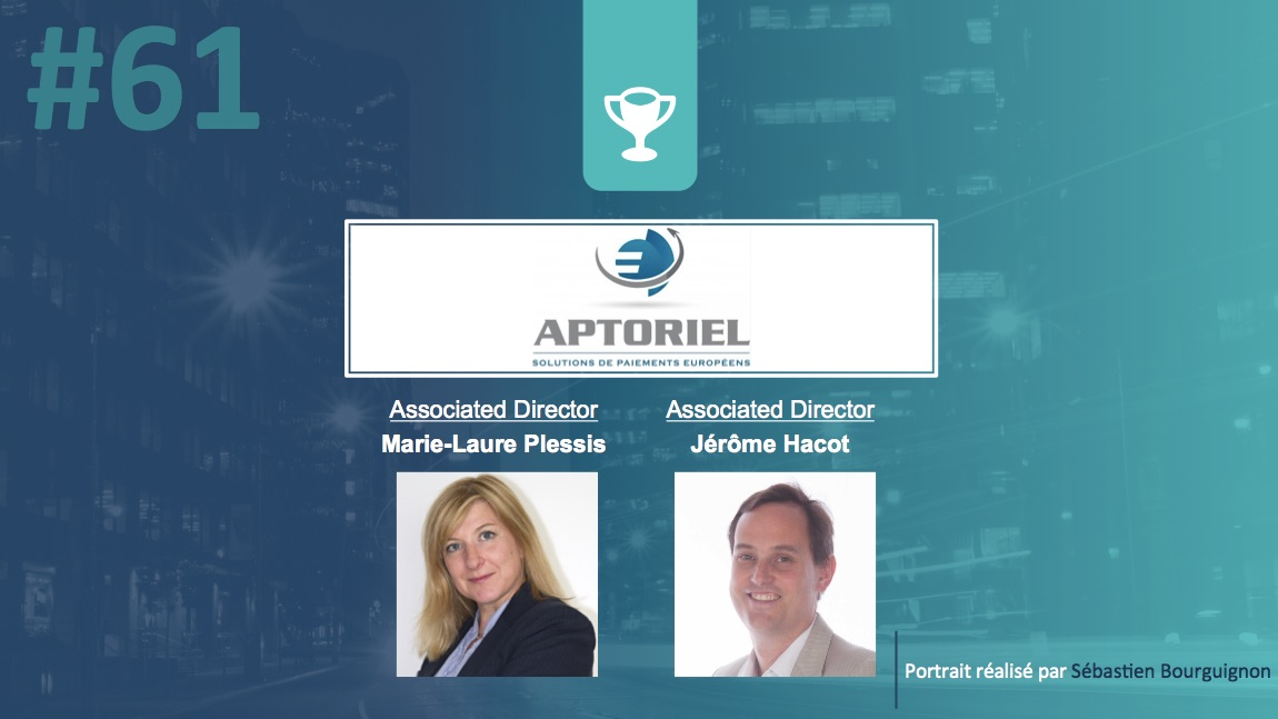 Portrait de startuper #61 - Aptoriel - Marie-Laure Plessis - Jérôme Hacot - par Sébastien Bourguignon