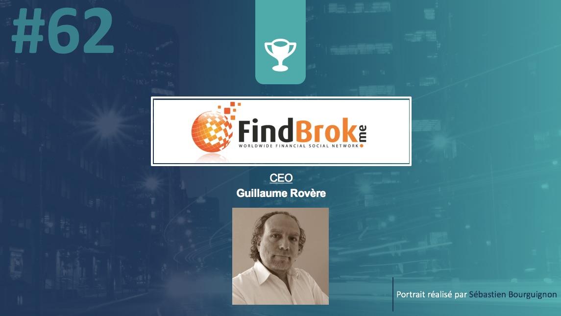 Portrait de startuper #62 - FindBrok - Guillaume Rovere - par Sébastien Bourguignon
