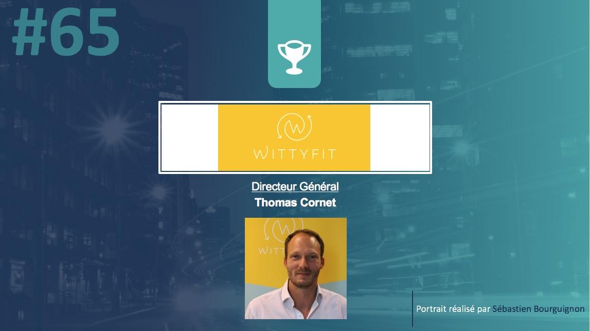 Portrait de startuper #65 - Wittyfit - Thomas Cornet - par Sébastien Bourguignon