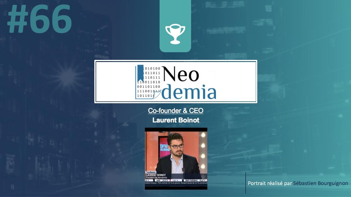 Portrait de startuper #66 - Neodemia - Laurent Boinot - par Sébastien Bourguignon