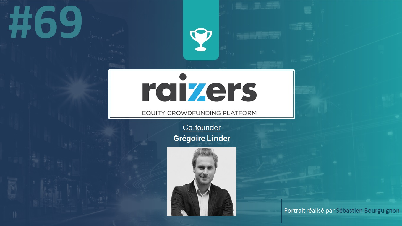 Portrait de startuper #69 - Raizers - Grégoire Linder - par Sébastien Bourguignon