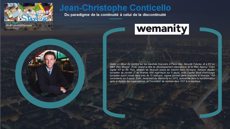 Jean-Christophe Conticello - Extrait Livre Blanc 80 #PortraitDeStartuper - par Sébastien Bourguignon