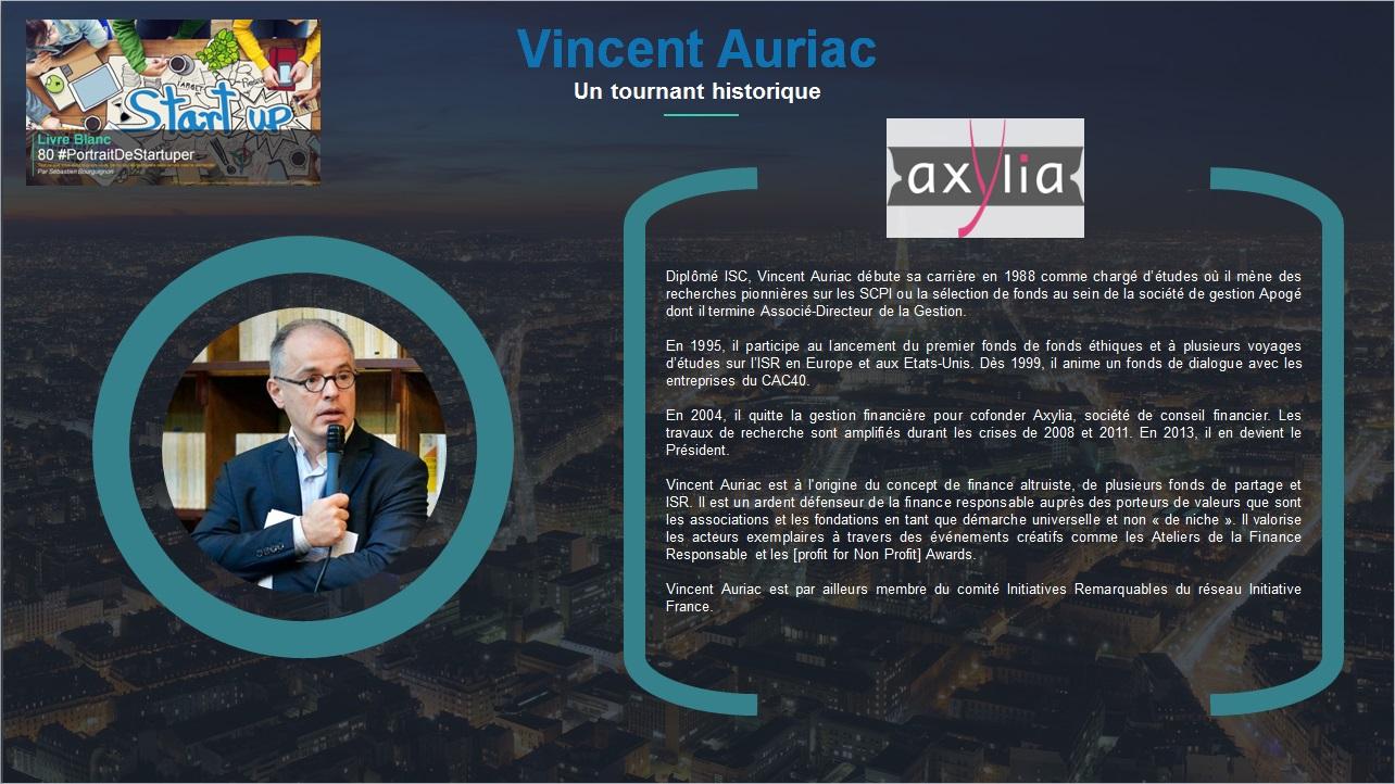 Vincent Auriac - Extrait Livre Blanc 80 #PortraitDeStartuper - par Sébastien Bourguignon
