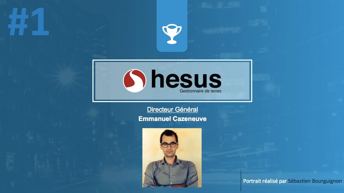 Portrait de startuper #1 - Hesus - Emmanuel Cazeneuve - par Sébastien Bourguignon