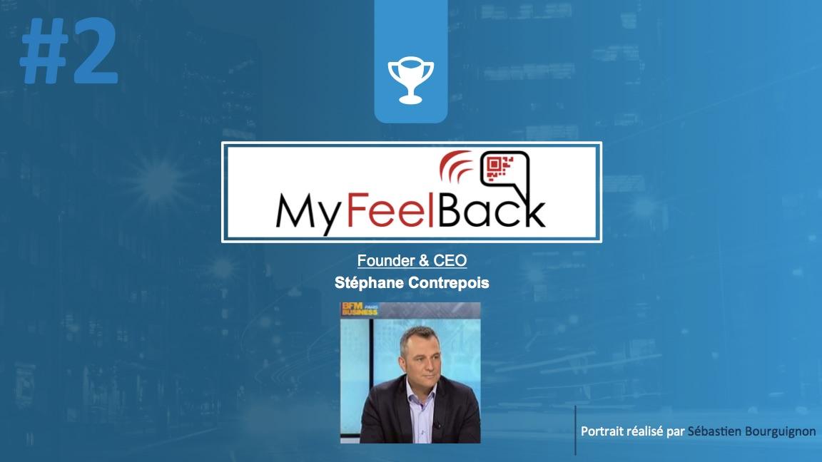 Portrait de startuper #1 - MyFeelBack - Stéphane Contrepois - par Sébastien Bourguignon
