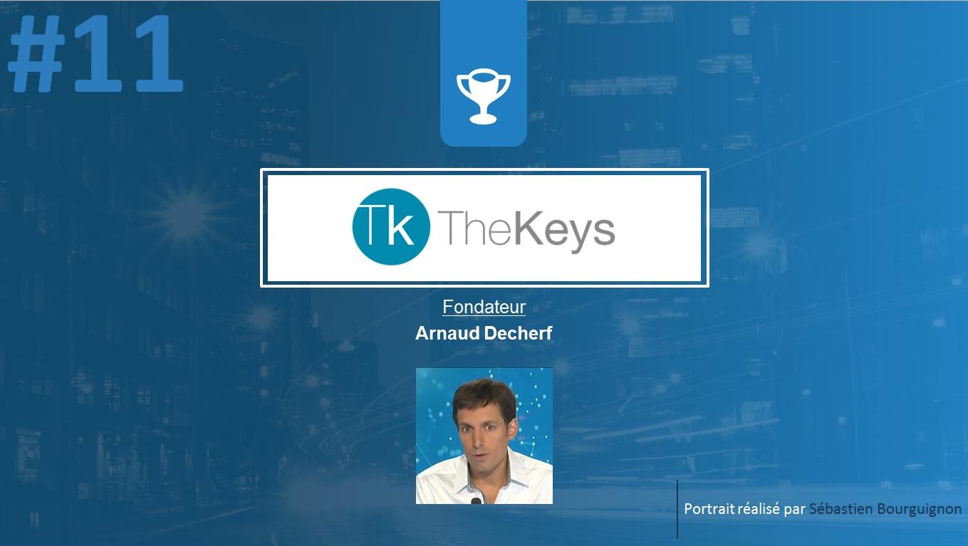 Portrait de startuper #11 - The Keys - Arnaud Decherf - par Sébastien Bourguignon