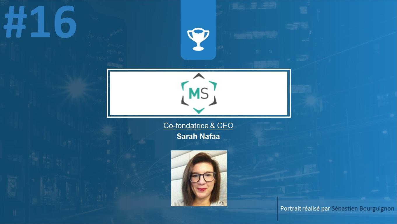 Portrait de startuper #16 - Mooky Skills - Sarah Nafaa - par Sébastien Bourguignon
