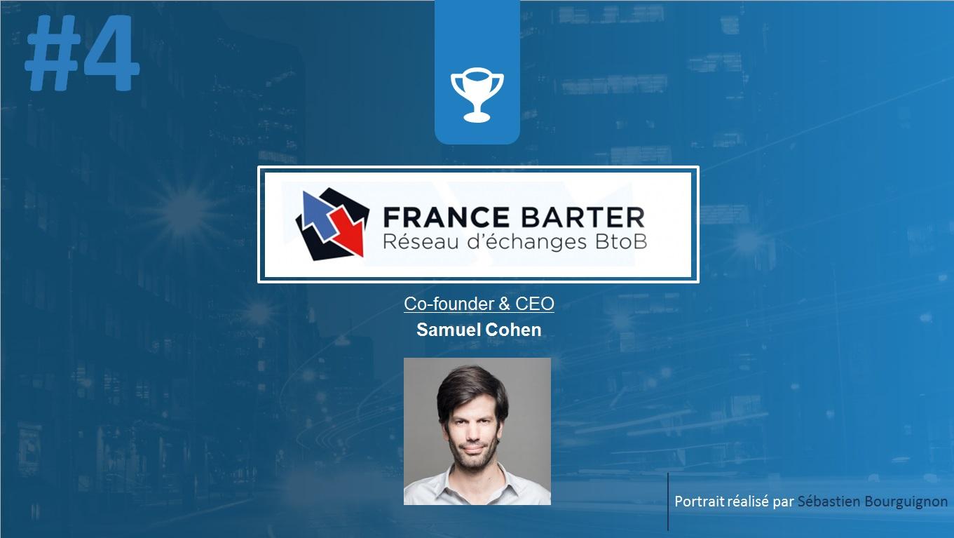 Portrait de startuper #4 - France Barter - Samuel Cohen - par Sébastien Bourguignon