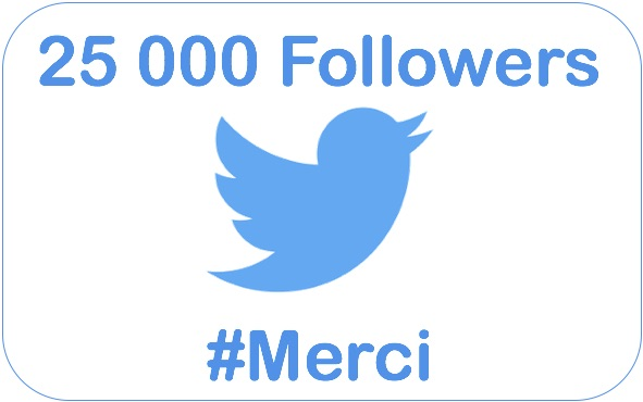 25 000 followers merci