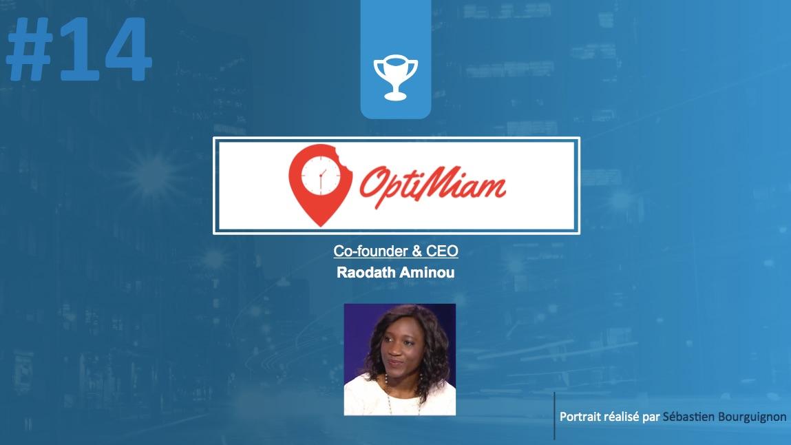 Portrait de startuper #14 - OptiMiam - Raodath Aminou - par Sébastien Bourguignon