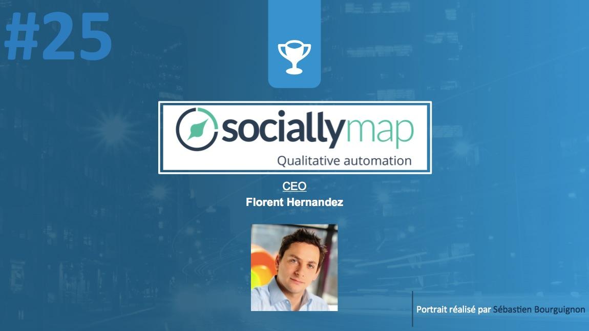Portrait de startuper #25 - Sociallymap - Florent Hernandez - par Sébastien Bourguignon