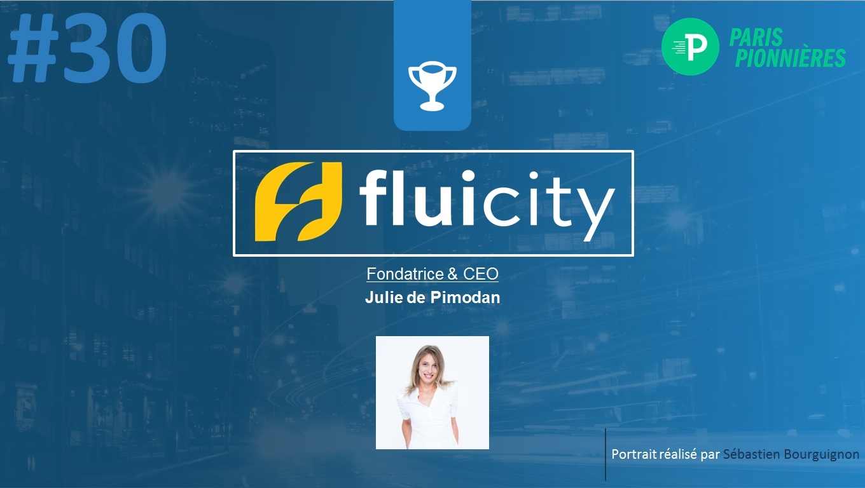 Portrait de startuper #30 - Fluicity - Julie de Pimodan - par Sébastien Bourguignon