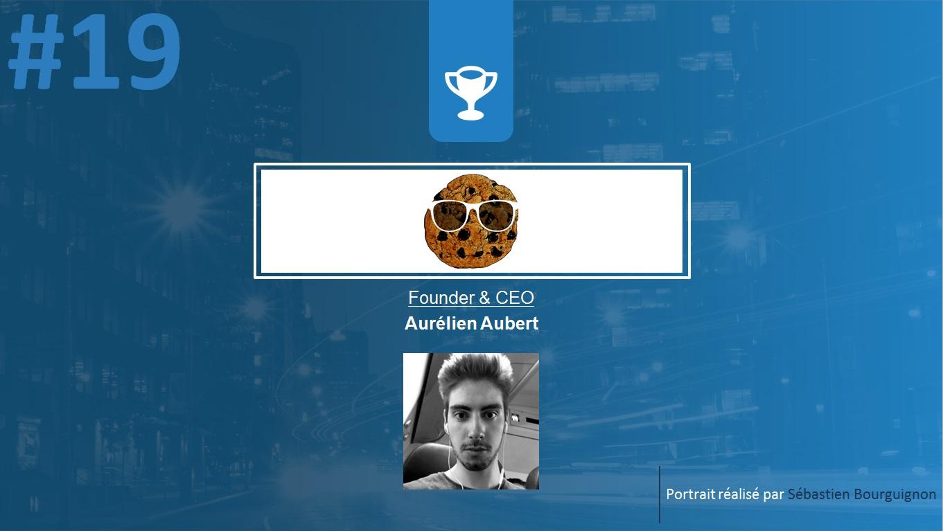 Portrait de startuper #19 - Sir Cookie - Aurélien Aubert - par Sébastien Bourguignon