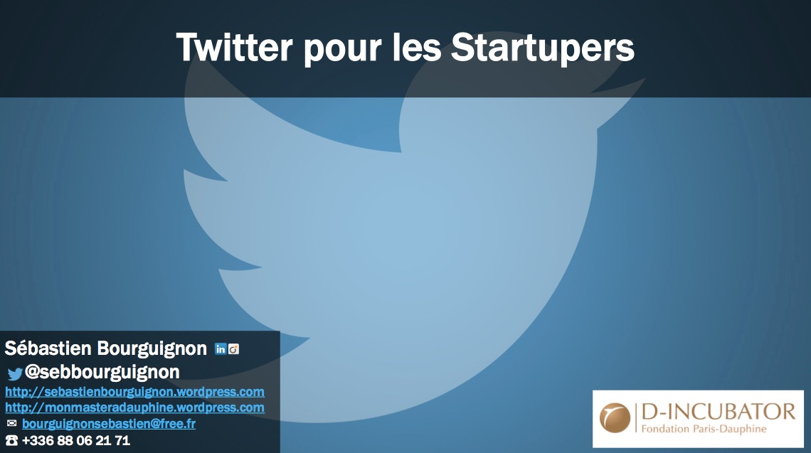 twitter startupers dauphine