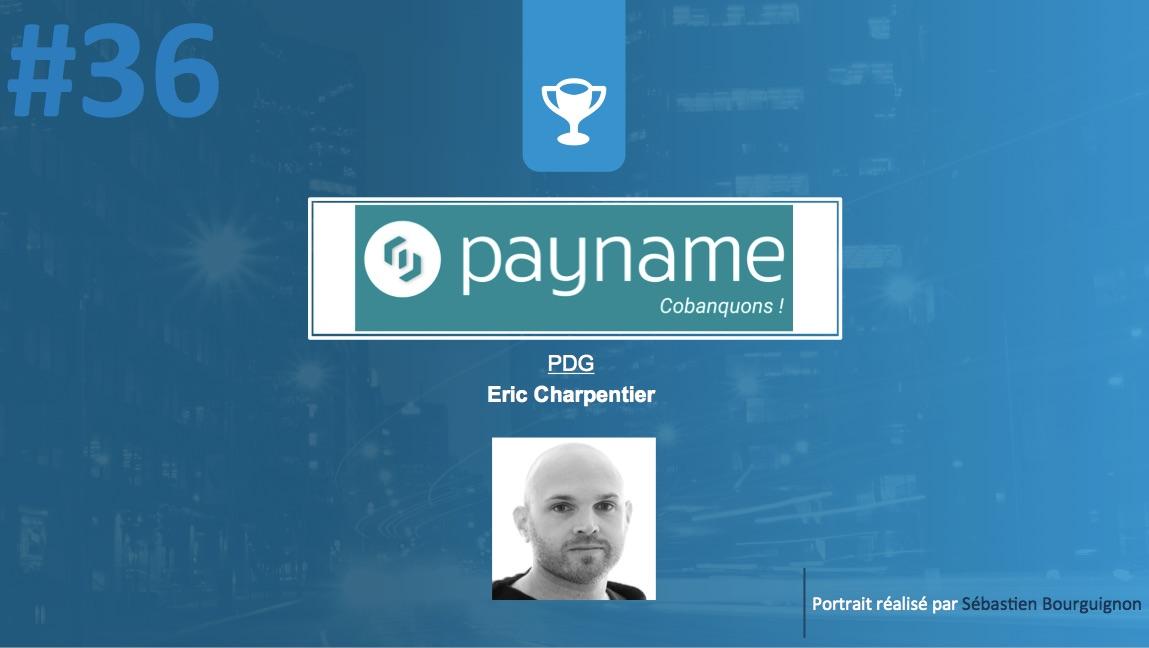 Portrait de startuper #36 - Payname - Eric Charpentier - par Sébastien Bourguignon