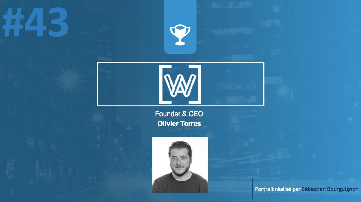 Portrait de startuper #43 - WeAssur - Olivier Torres - par Sébastien Bourguignon