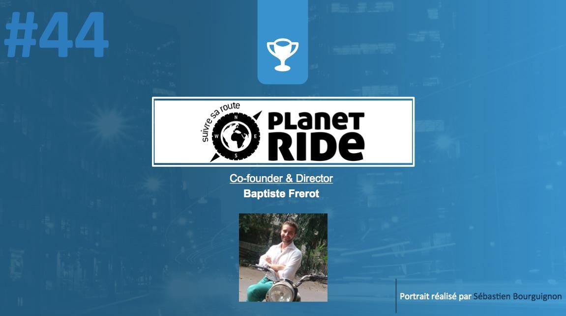 Portrait de startuper #44 - Planet Ride - Baptiste Frerot - par Sébastien Bourguignon