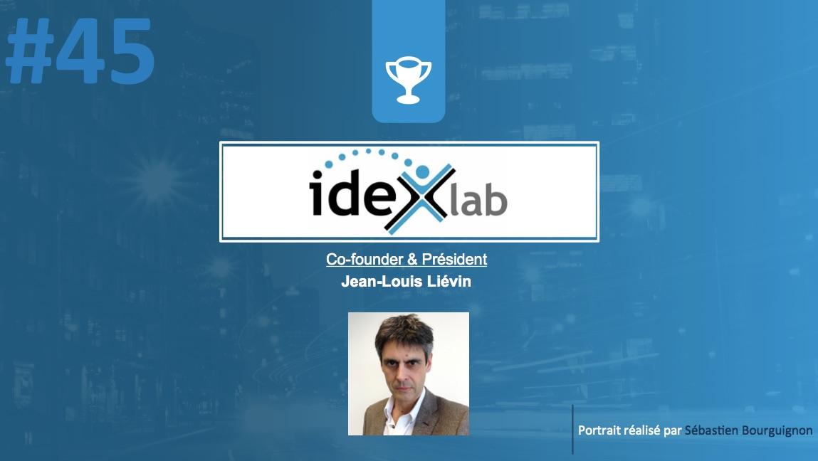 Portrait de startuper #45 - Idexlab - Jean-Louis Liévin - par Sébastien Bourguignon