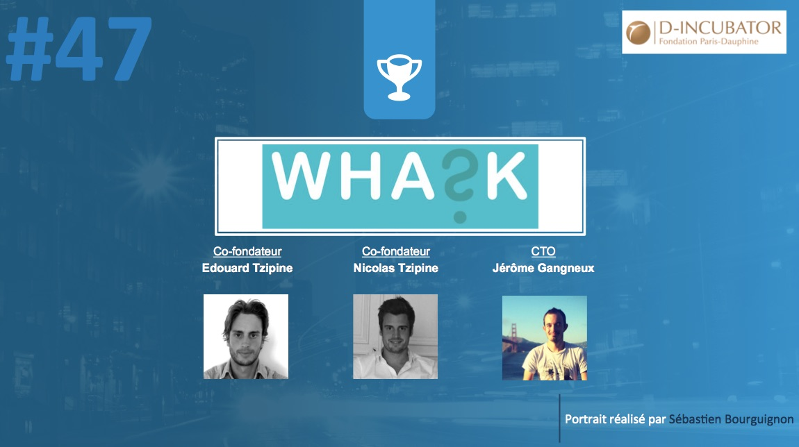 Portrait de startuper #47 - Whask - Edouard Tzipine & Nicolas Tzipine & Jérôme Gangneux - par Sébastien Bourguignon