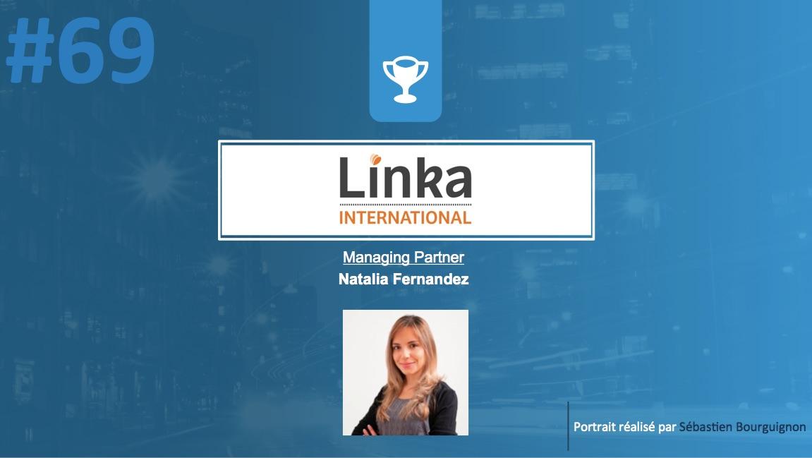 #PortraitDeStartuper #69 - Linka International - Natalia Fernandez - par Sébastien Bourguignon
