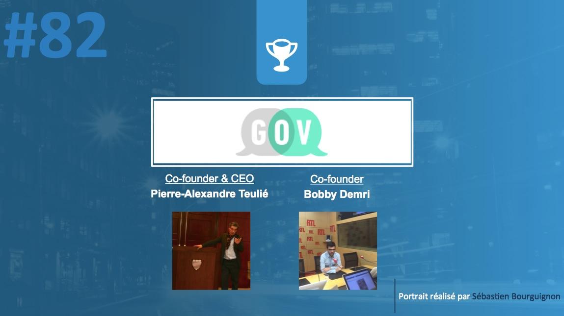 #PortraitDeStartuper #82 - GOV - Pierre-Alexandre Teulié & Bobby Demri - par Sébastien Bourguignon
