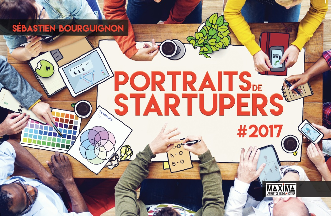 couverture portraits de startupers