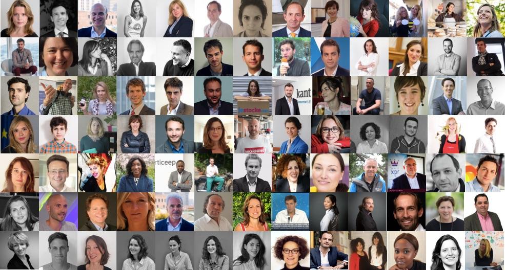 portraits de startupers 2017 - les startupers