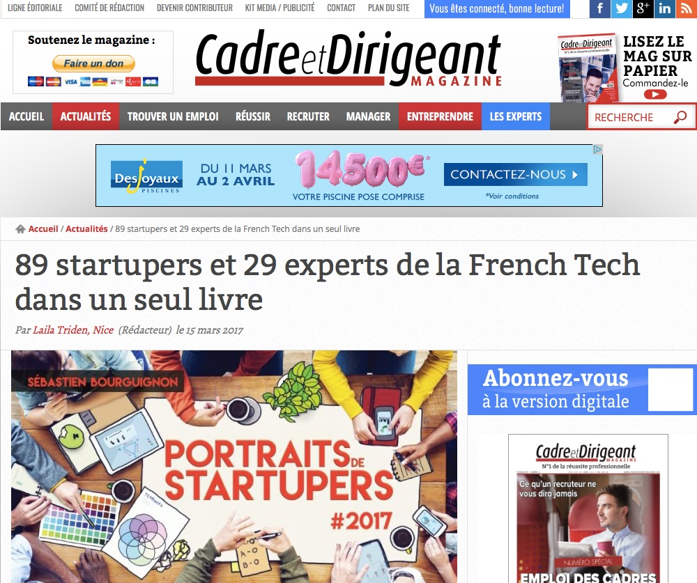 89 startupers et 29 experts