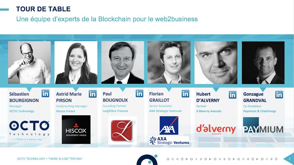 table ronde blockchain