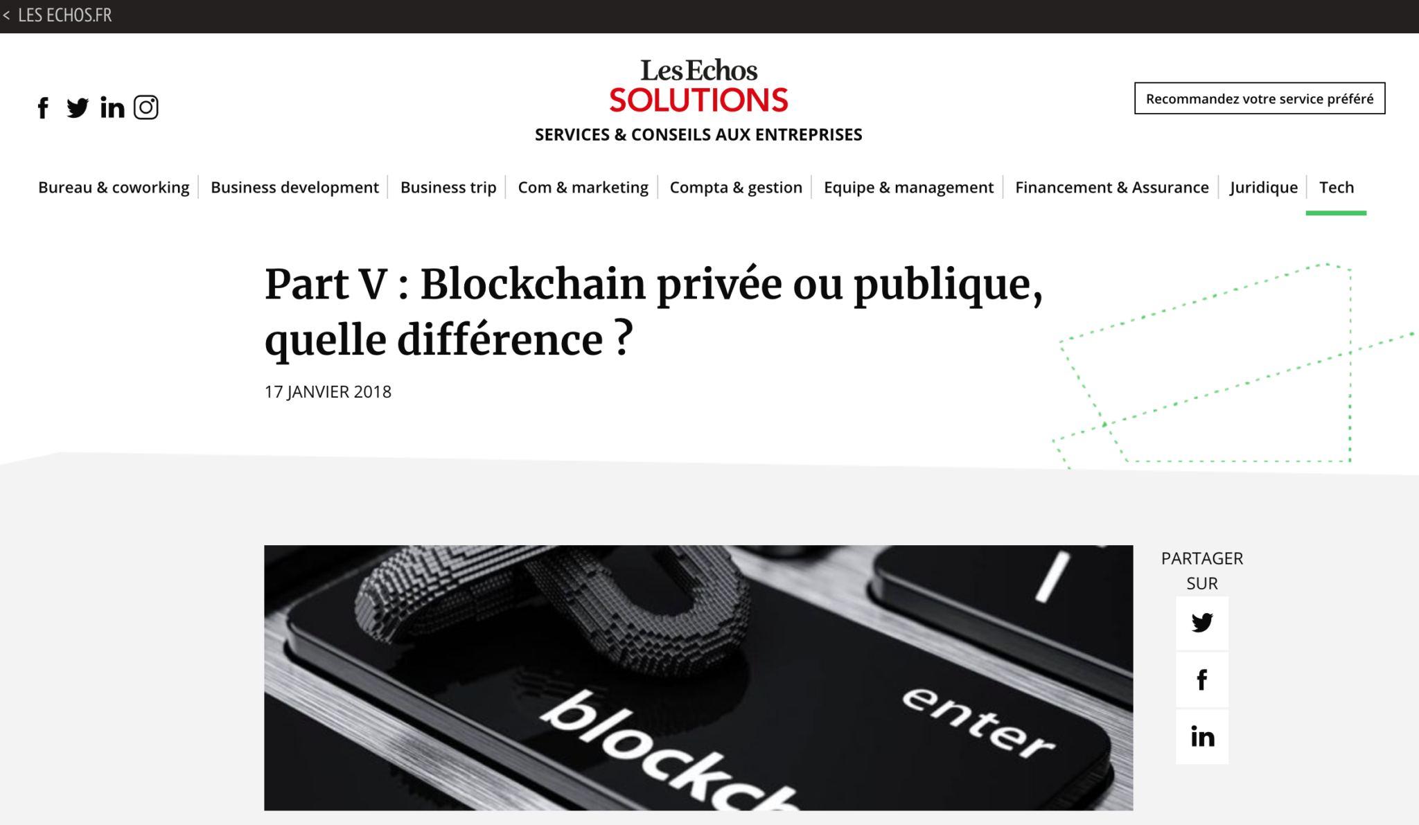 blockchain privée