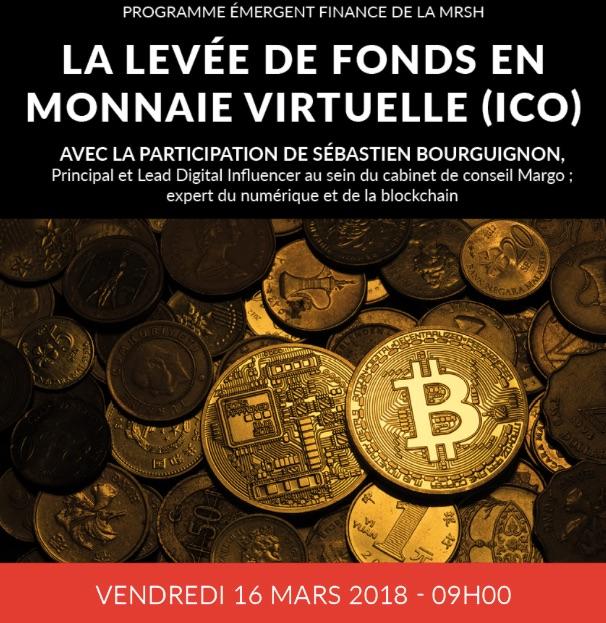 levée de fonds en monnaie virtuelle