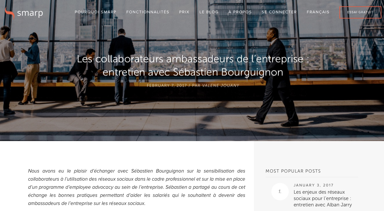 collaborateurs ambassadeurs