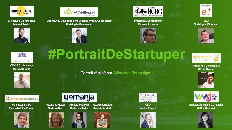 #PortraitDeStartuper