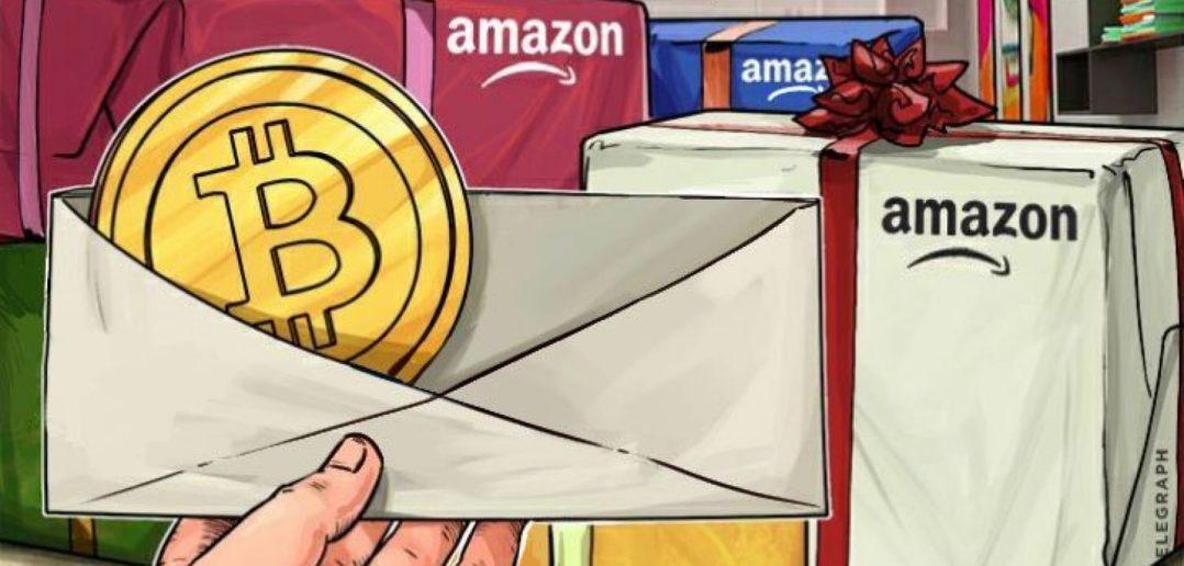 Bitcoin sur Amazon
