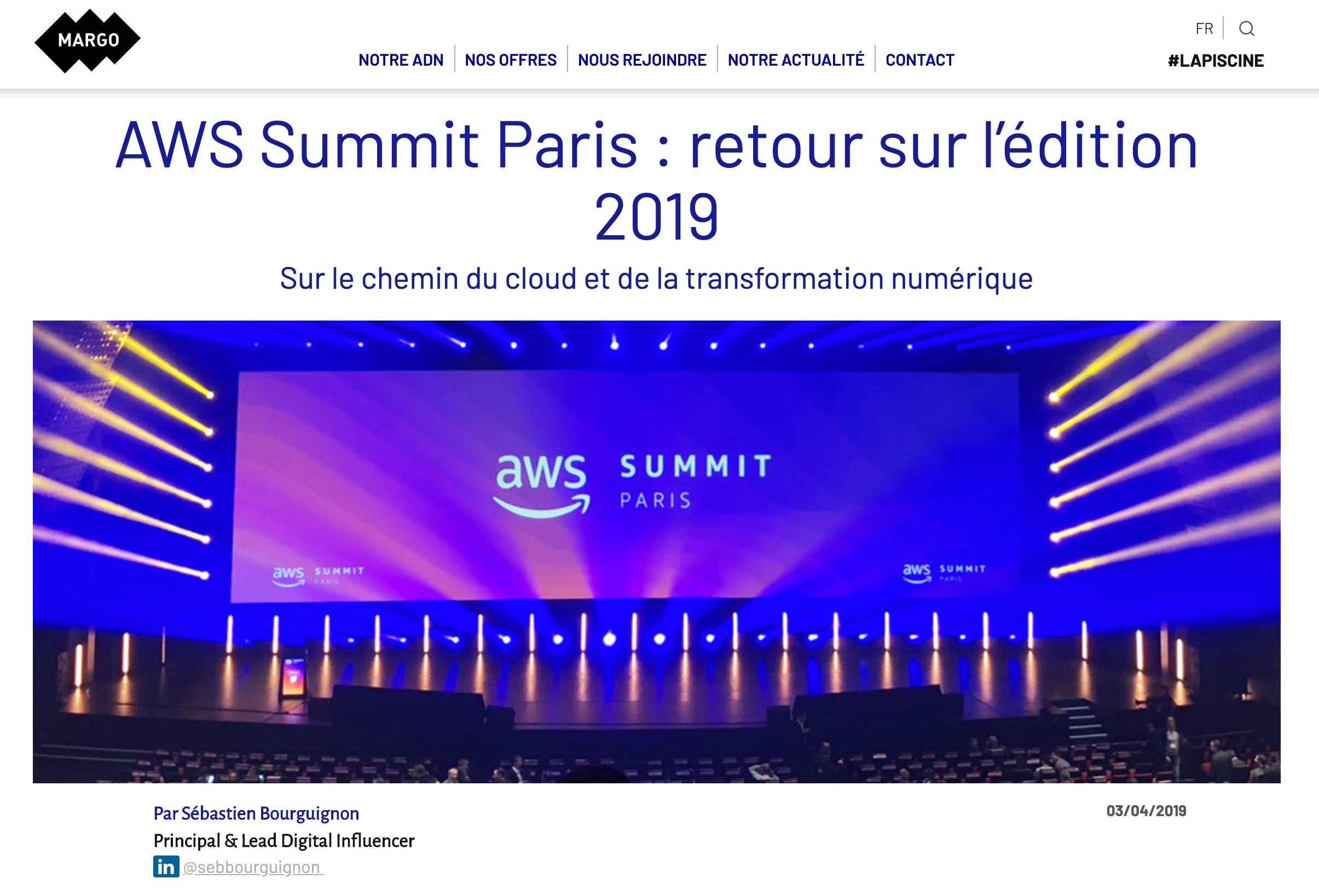 aws summit paris