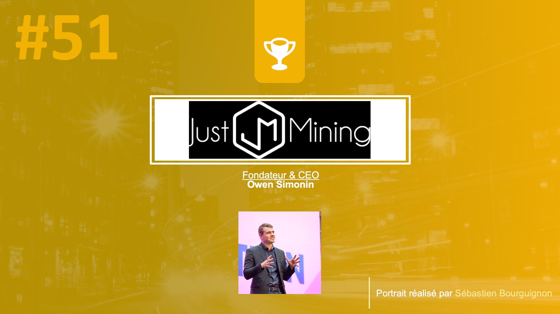 just mining